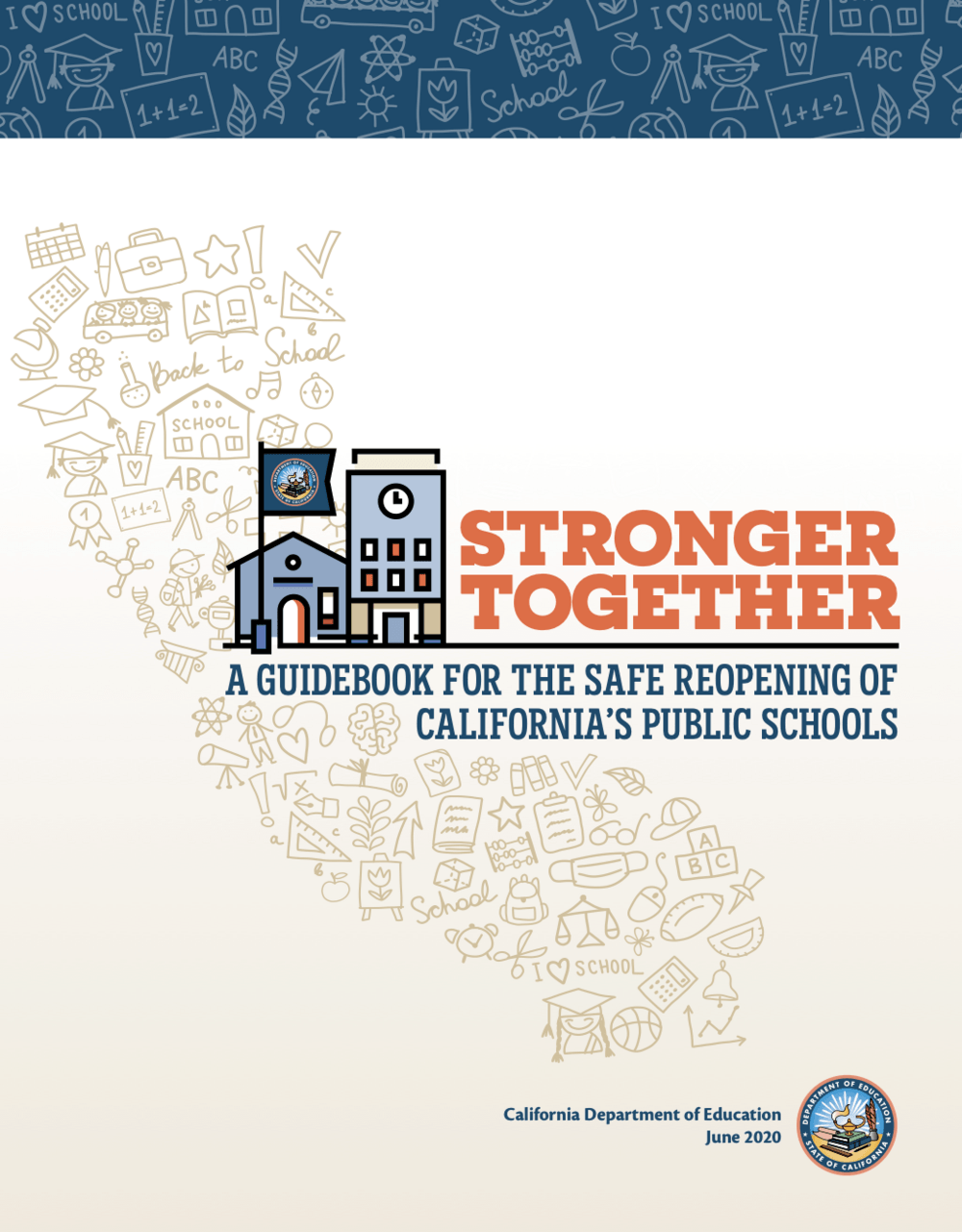 guidebook cover Stronger Together